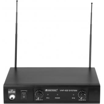 OMNITRONIC VHF-102 Wireless Mic System 209.80/205.75MHz #4