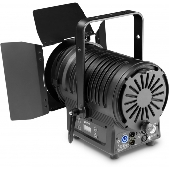 Cameo TS 200 WW Theatre Spotlight with Fresnel Lens and 180 Watt Warm White LED in Black Housing #2