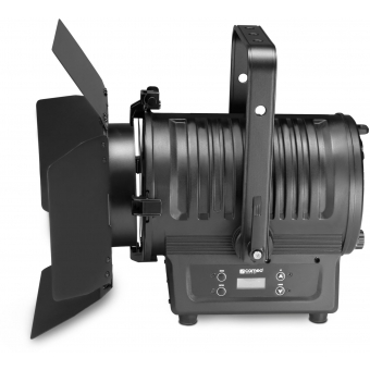 Cameo TS 200 WW Theatre Spotlight with Fresnel Lens and 180 Watt Warm White LED in Black Housing #3
