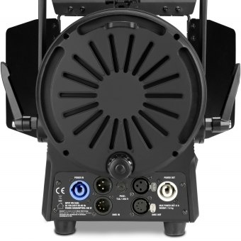 Cameo TS 200 WW Theatre Spotlight with Fresnel Lens and 180 Watt Warm White LED in Black Housing #4