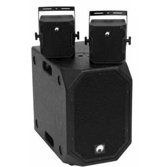 OMNITRONIC Set BOB-10A bk + 2x BOB-4 bk
