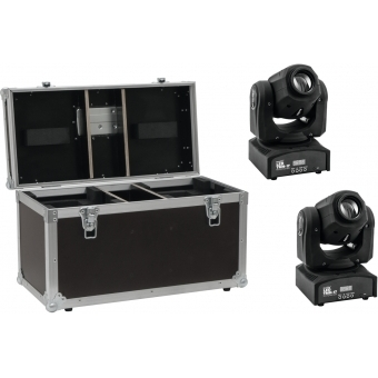 EUROLITE Set 2x LED TMH-17 Spot + Case