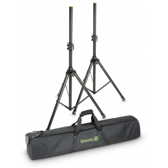 Gravity SS 5211 B SET 1 Set of 2 Speaker Stands with Bag #1