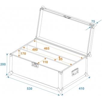 ROADINGER Flightcase 2x LED CBB-4 #5