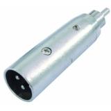 OMNITRONIC Adapter RCA(M)/XLR(M)