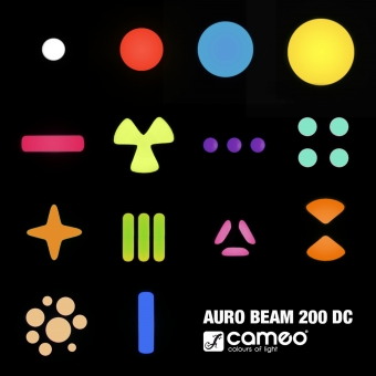 Cameo AURO BEAM 200 DC #8