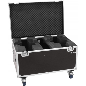 ROADINGER Flightcase 2x LED TMH-X19 Moving head