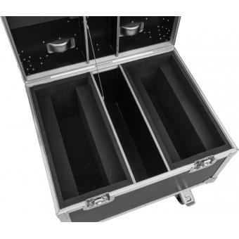 ROADINGER Flightcase 2x LED TMH-X Bar 5 #4