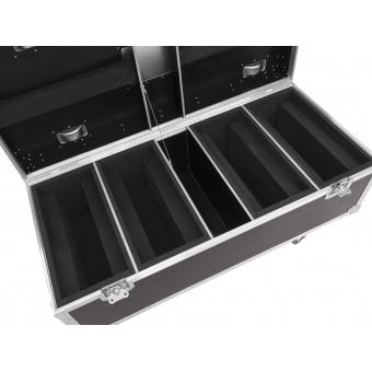 ROADINGER Flightcase 4x LED TMH-X Bar 5 #3