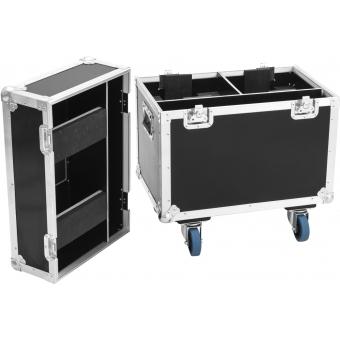 ROADINGER Flightcase 2x LED TMH-75 #2
