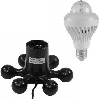 EUROLITE Set LED BCL-1 + Hexopus base black