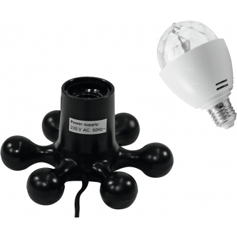 EUROLITE Set LED BC-1 RGB + Hexopus base black