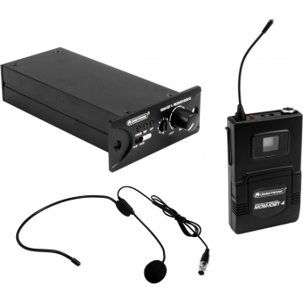 OMNITRONIC Set MOM-10BT4 Receiver module + Bodypack transmitter