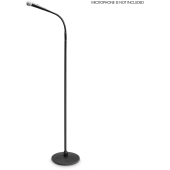 Gravity MS 23 XLR B Microphone Stand with XLR Connector and Gooseneck #2
