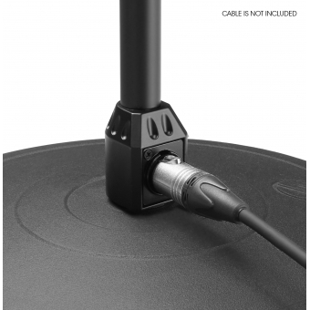 Gravity MS 23 XLR B Microphone Stand with XLR Connector and Gooseneck #8