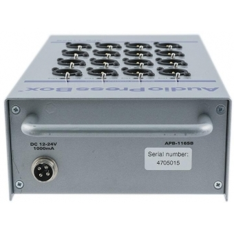 Audio Press Box APB-116 SB #4