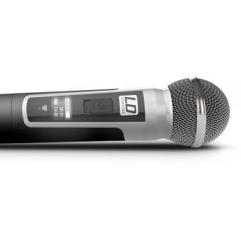 Sistem wireless microfon cu headset si microfon de mana LD Systems U 506 HBH 2 #11