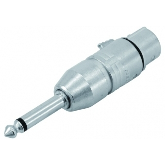 NEUTRIK Adapter XLR(F)/Jack(M) mono NA2FP