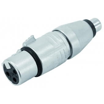 NEUTRIK Adapter XLR(F)/RCA(F) NA2FPMF