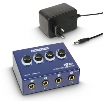 LD Systems HPA 4 Headphone Amplifier 4-channel #3
