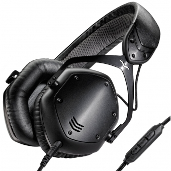 Casti V-MODA Crossfade LP2 Black Metal