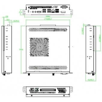 OPS Core I5 4 GB RAM Slot-In PC pentru Display-uri profesionale #2
