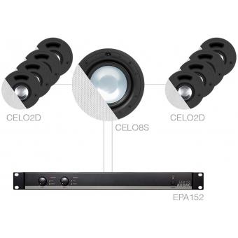 SENSO82.8S/W - 8 x CELO2D + CELO8S + EPA152 - White
