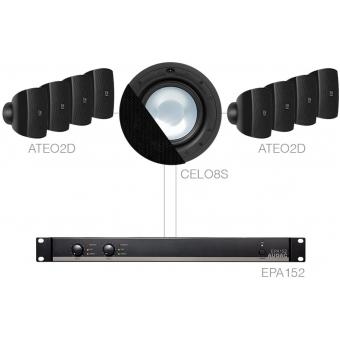 SONA82.8S/B - 8 x ATEO2D + CELO8S + EPA152 - Black