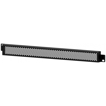 "BSG01H - 19"" grill security panel - 1HE - with hexagonal perforation"