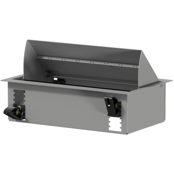 CASY028/G - CASY In-table mount box - 8 space - Grey version - RAL9006