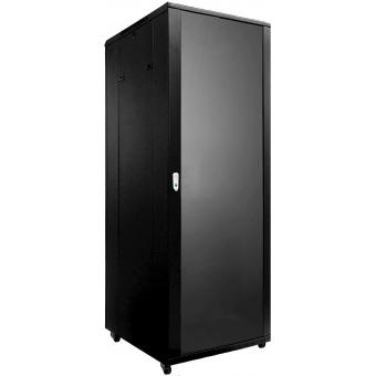 "SPR8842/B - 19"" rack cabinet - 42 units - 800mm W x 800mm D - Black version - 800mm width"