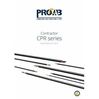 PROMO6215-ENG - PROCAB Contractor CPR series - English version