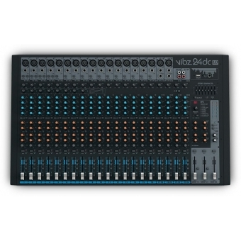 LD Systems VIBZ 24 DC 24 Channel Mixing Console with DFX and Compressor #2