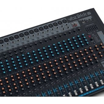 LD Systems VIBZ 24 DC 24 Channel Mixing Console with DFX and Compressor #8