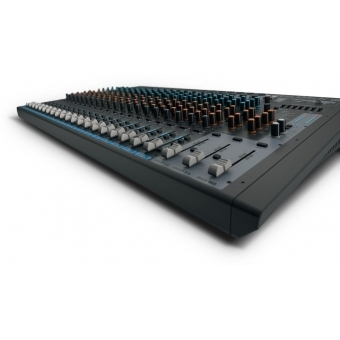 LD Systems VIBZ 24 DC 24 Channel Mixing Console with DFX and Compressor #9