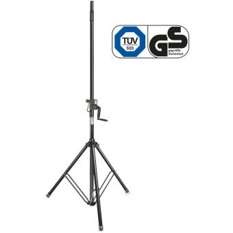 Gravity SP 4722 B Wind-Up Speaker Stand