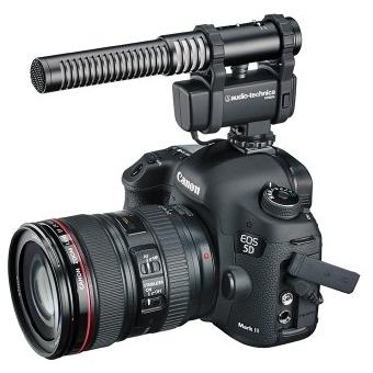Microfon stereo/mono cu montură pentru cameră video Audio-technica AT8024 #3