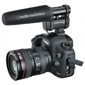 Microfon stereo/mono cu montură pentru cameră video Audio-technica AT8024 #4