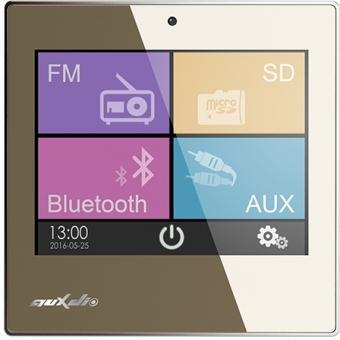 Amplificator stereo 2x10W de perete cu USB/SD/FM/Bluetooth/2xAUX cu ecran LED, DSPPA DM837 #2