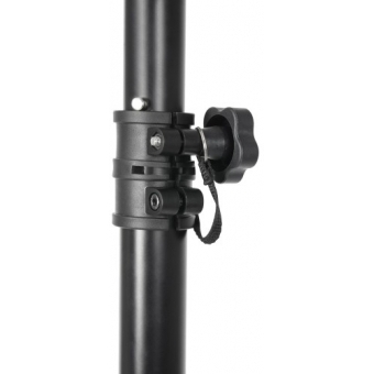 Adam Hall Stands SLTS 017 E Lighting Stand large with TV Spigot Adapter #2