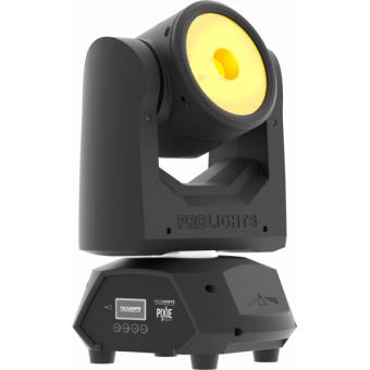 PIXIEBEAM - Super-fast LED beam, 1x60W RGBW/FC Osram Ostar, 4.5°, infinity P/T, 82W, 4 kg