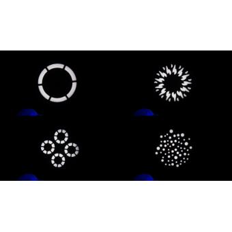 PIXIESPOTBK - LED spot moving head, 60 W RGBW / FC Osram Ostar LED, 18,7°, 112 W, 7 kg BK #11