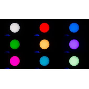 PIXIESPOTBK - LED spot moving head, 60 W RGBW / FC Osram Ostar LED, 18,7°, 112 W, 7 kg BK #10