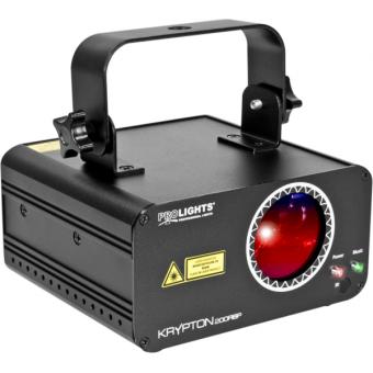 KRYPTON200RBP - Laser projector, red (100 mW), blue (100 mW), purple (200 mW) mixed, DMX