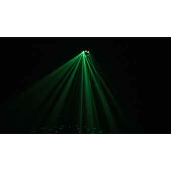 RADIONSTR - Multi beam effect 5x3W RGBWA LED + 42 SMD5050, 5 DMX channels, automatic/sound #5