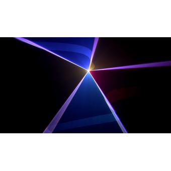 WIZARD - RGB laser projector, green (100mW) red (120mW) blue(600mW), DMX, ILDA, SDcard #5