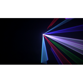 WIZARD - RGB laser projector, green (100mW) red (120mW) blue(600mW), DMX, ILDA, SDcard #7