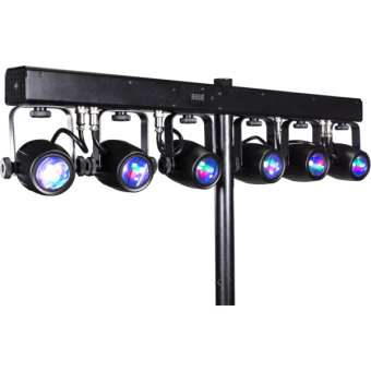 6BEAMQ - Set composed by 6x12 W RGBW LEDscolour changers, 14,8° beam, IP30, 59,6 W, 6 kg #2