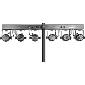 6BEAMQ - Set composed by 6x12 W RGBW LEDscolour changers, 14,8° beam, IP30, 59,6 W, 6 kg #4