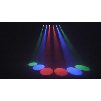 6BEAMQ - Set composed by 6x12 W RGBW LEDscolour changers, 14,8° beam, IP30, 59,6 W, 6 kg #8